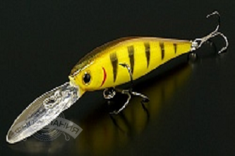 Воблер Lucky Craft Pointer 65XD-806 Tiger Perch*