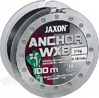 Плетеный шнур Jaxon Anchor WX8 125m