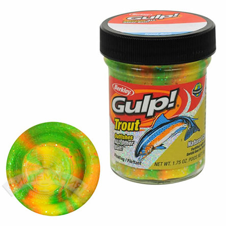 Паста  Berkley Gulp! Dough Natural Scent Garlic  - Rainbow Candy