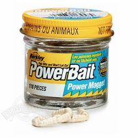 Силиконовая приманка  Berkley  PowerBait Micro Maggots Red