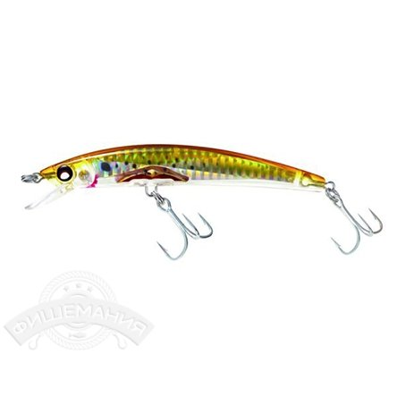 Воблер Yo-Zuri F978-HBK Crystal 3D Minnow (F) 130mm