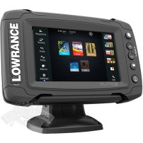 Эхолот Lowrance Elite 5Ti Mid/High/DownScan
