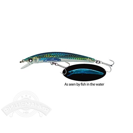 Воблер Yo-Zuri F978-HGM Crystal 3D Minnow (F) 130mm