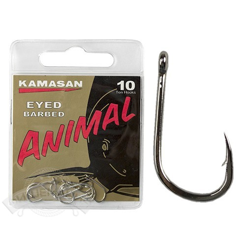 Крючки Kamasan Animal Eyed