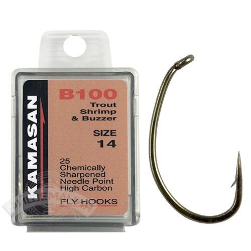 B541 Crystal Reverse Spade End Hooks Needle point Hooks,Kamasan