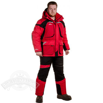 a61e93665334 Купить Зимний костюм Novatex Армада красный в СПб | рыболовный ...