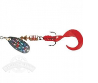 Блесна вращ. Mepps Comet Rainbo Twist Red, 0, S