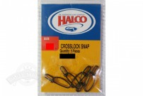 Застежка Halco CROSSLOCK SNAP (5 шт.)