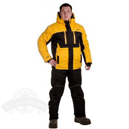 6d0e99379496 Купить Зимний костюм Novatex Кайт, черный/желтый в СПб | рыболовный ...