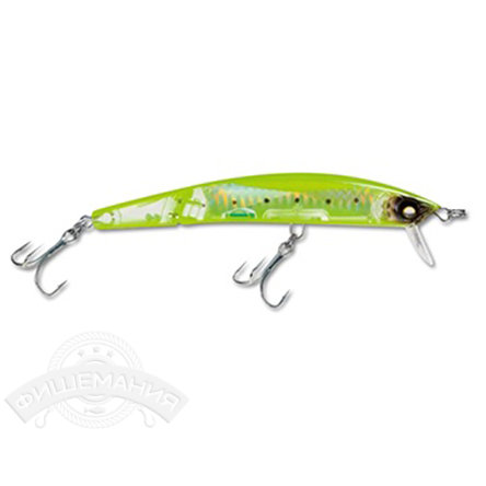 Воблер Yo-Zuri F1051-HCIW Crystal 3D Minnow Jointed