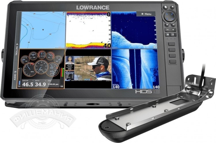 Эхолот Lowrance HDS-16 LIVE with Active Imaging 3-in-1 ROW