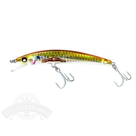 Воблер Yo-Zuri F976-HBK Crystal 3D Minnow 90mm