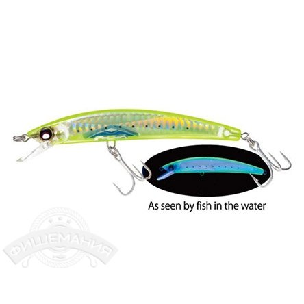 Воблер Yo-Zuri F976-HCIW Crystal 3D Minnow 90mm