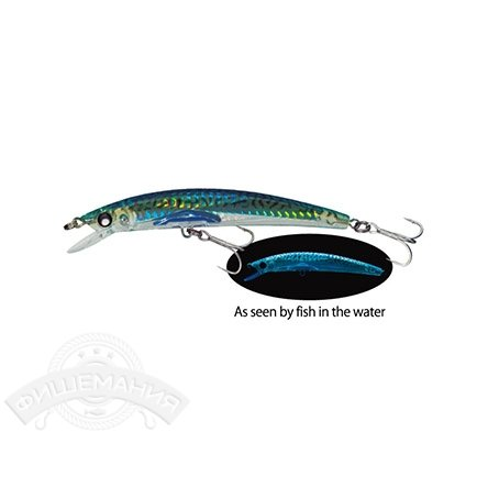 Воблер Yo-Zuri F976-HGM Crystal 3D Minnow 90mm