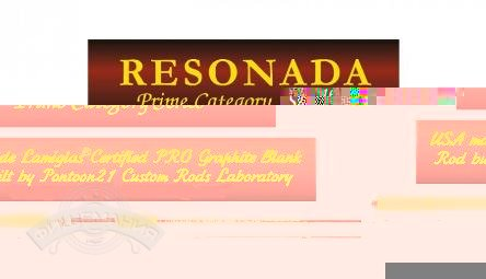 Pontoon-21 Resonada RSS662MXF