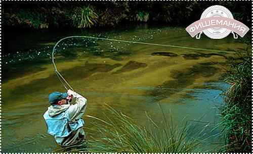 фото рыбалки нахлыстом на Аляске